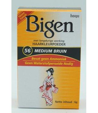 Bigen Hair Dye 56 Medium Brown
