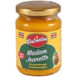 Paloeloe Madam Jeanette Yellow sambal - Very hot!
