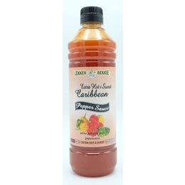 Lekker Bekkie Extra Hot & Sweet caribbean pepper sauce