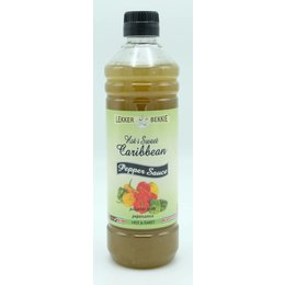 Lekker Bekkie Hot & Sweet caribbean peper saus