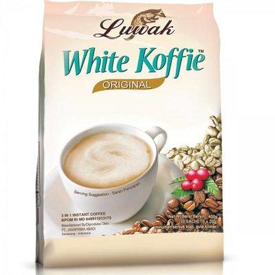 White Koffie Luwak Original 20 Sachets 400gr