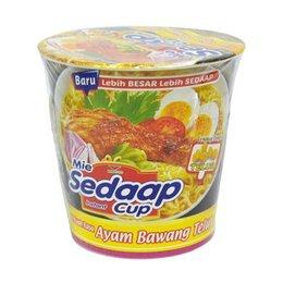 Mie Sedaap Cup ayam bawang tellur flavour