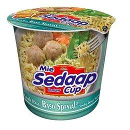 Mie Sedaap cup Baso Spesial smaak 77 gram