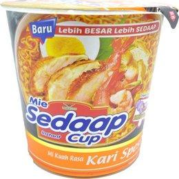 Mie Sedaap cup Kari Spesial smaak