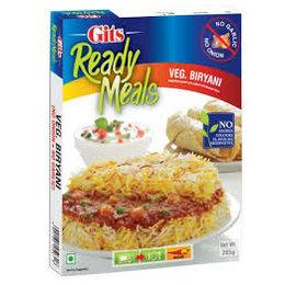 Gits Veg Biryani bereide maaltijden