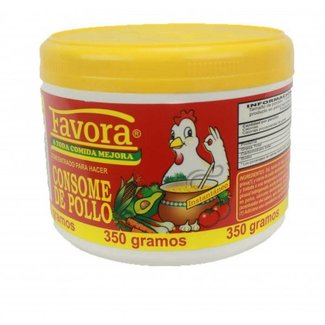 Favora Consome De Pollo / Chicken Flavor Broth 350gr