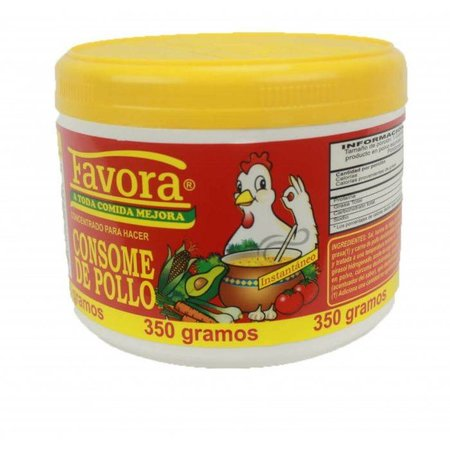 Favora Consome De Pollo / Chicken Flavor Broth 350gr
