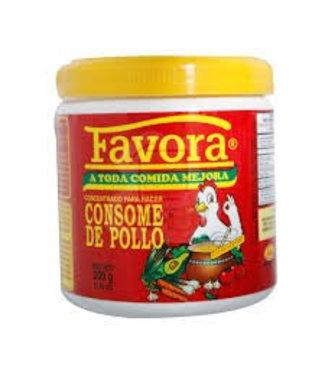 Favora Consome De Pollo / Chicken Flavor Broth 200gr