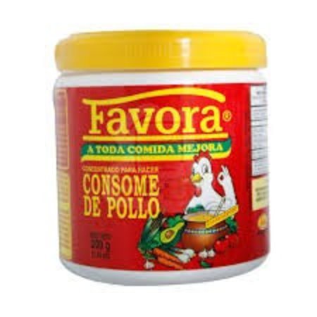 Favora Consome De Pollo / Chicken Flavor Bouillon 200gr