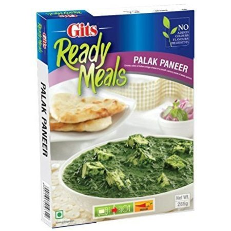 Gits Palak Paneer ready meals
