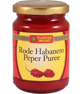 Flower Brand Red Habanero Pepper Puree sambal