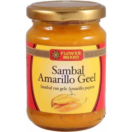 Flower Brand Amarillo sambal yellow pepper 200 grams