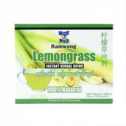 Ramwong Brand Instant Lemongrass Drink 180gr