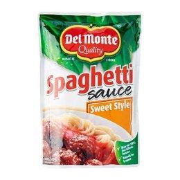 Del Monte Spaghetti Sauce Sweet Style