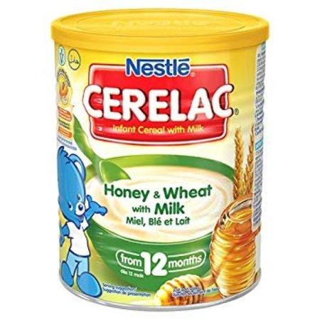 Nestle Cerelac Honing en tarwe met melk 400g