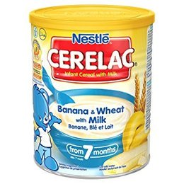Nestle Cerelac banaan en tarwe met melk 400g