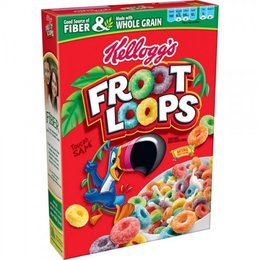 Kellogs Kelloggs froot loops 345 g