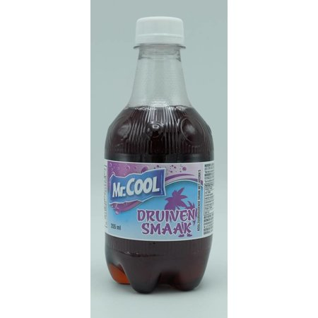 Mr.Cool Grape flavour soft drink 355ml