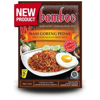 Bamboe Nasi Goreng Pedas bumbu instant 40g