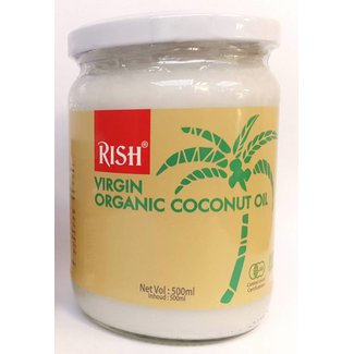 Rish Maagd biologische kokosolie 500ml
