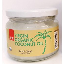 Rish organic coconut oil 250ml