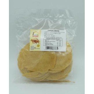 Nesia Emping Manis uncooked prawn crackers 150 grams