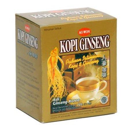 Miwon Ginseng Coffee 20 Gr X 6