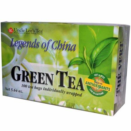 Uncle Lee's Tea - Green Tea - Legends of China 100 theezakjes