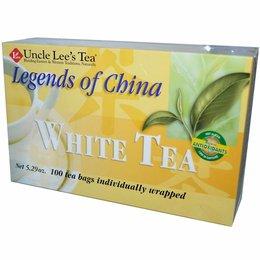 Uncle Lee's Tea - White Tea 100 theezakjes