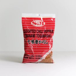 Nanami Togarashi Assorted Chili Pepers 300gr S&B