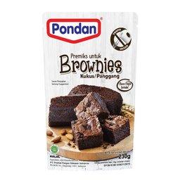 Pondan - Brownies (Kukus / Panggang) 230g
