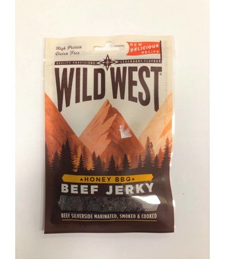 Wild West Wild West Beef Jerkey Honey BBQ 25 g