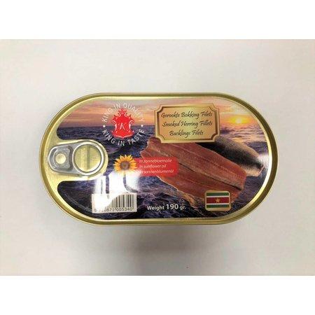 Suriname Gerookte Bokking Filets 190 g