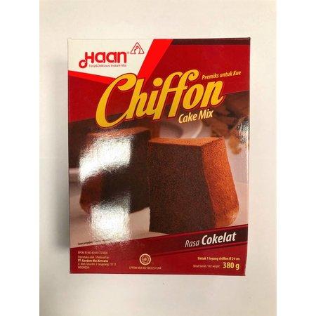 Haan Haan Chiffon Cake Mix Chocolate 380 g