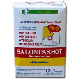 Salonpas Salonpas Hot 12x1