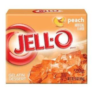 Jell-O Jell-o Peach Gelatin 85gr   3 OZ