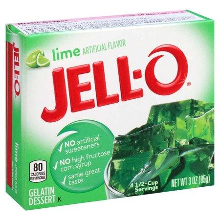 Jell-O Jell-o lime Gelatin 85gr | 3 OZ