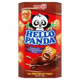 Meiji Hello Panda biscuits