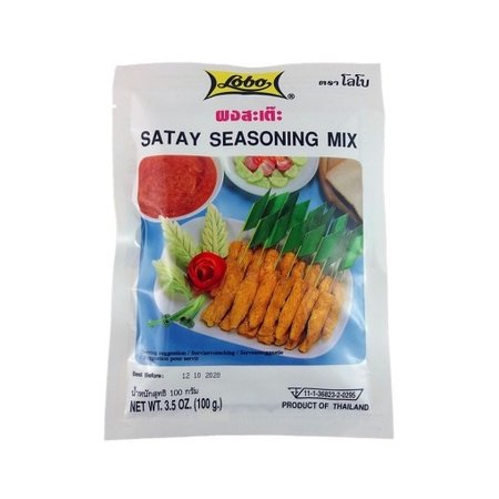 Satay Seasoning Mix 100gr - Lobo