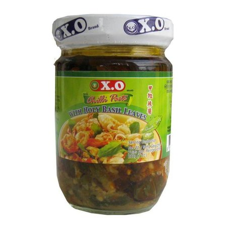 XO Chilli Paste with Holy Basil Leaves 200gr