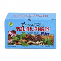 Tolak Angin Flu 12 pieces Sidomuncul