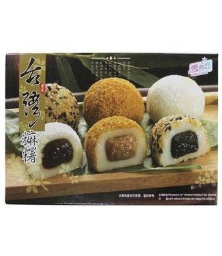 Mochi Peanut, Sesame, Red bean Yuki Love 450gr