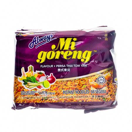 Ibumie Ibumie Mi Goreng Thai Tom Yam Instant Noodles 5-pack
