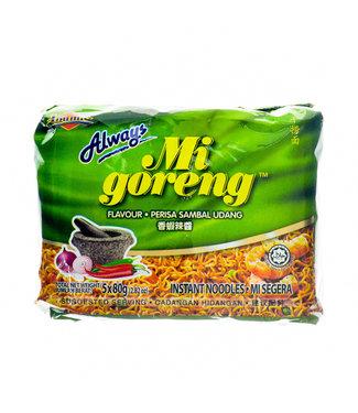 Ibumie Ibumie Mi Goreng Sambal Udang 5-pack