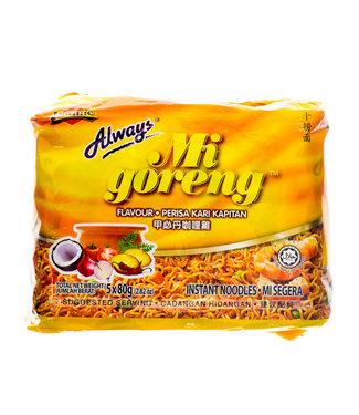 Ibumie Ibumie Mi Goreng Kari noodles 5-pack