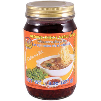 Ground Chilli & Garlic in Oil Double Seashorse 227gr