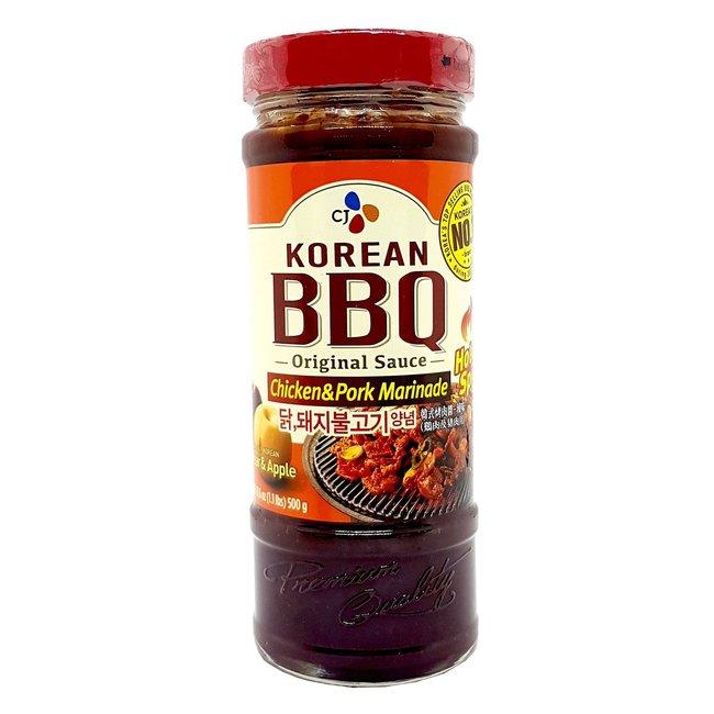 CJ Korean bbq Chicken Pork Marinade Hot Spicy Sauce 500gr