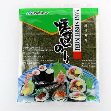 Yaki Sushi Nori Urashima 10 sheets