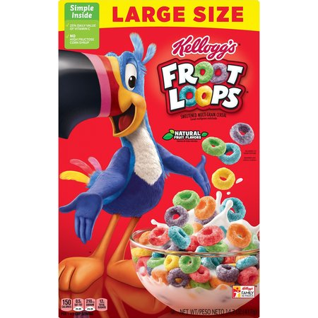 Froot Loops Large Size 17.7 oz / 417gr