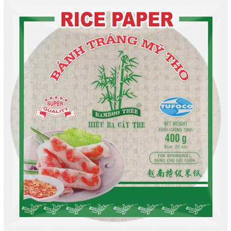 Rice Paper 22 cm round Bamboo Tree